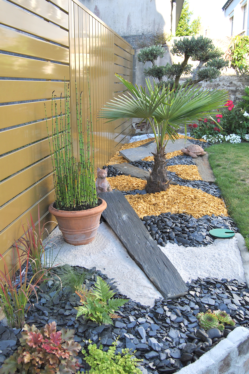 Am nagement ext rieur et d coration de terrasse for Plantes ombre exterieur nord